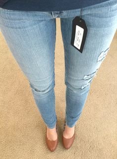 Stitch Fix stylist - Light wash skinny jeans ad5261aaa