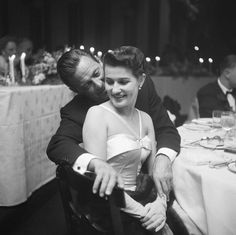 William Holden and wife Brenda Marshall
