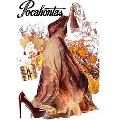 Pocahontas by violetvd on polyvore