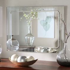 Have to have it. Frameless Deco Wall Mirror - 23.5W x 31.5H in. $139.99