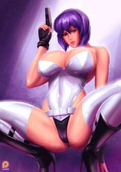 svoidist:  Motoko Kusanagi Another old-time classic, I took an opportunity to make a new piece of her with improvement. patreon.com/svoidist for NSFWDeviantartFacebook