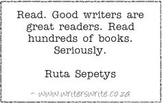 Quotable - Ruta Sepetys - Writers Write