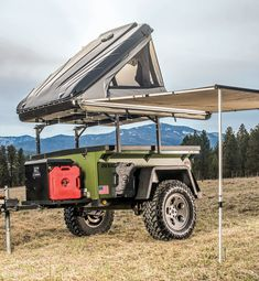 Rugged Comfort: TO Extreme Rugged 'N Ready - Petersen's Hunt Small Camping Trailer, Off Road Camper Trailer, Tent Campers, Camper Trailers, Off Road Camping, Jeep Camping, Camping Life, Expedition Trailer, Overland Trailer