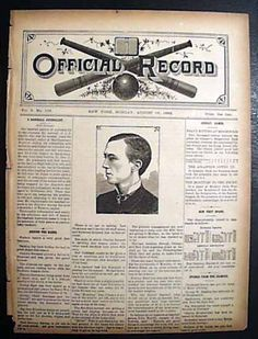 Henry Chadwick on the curve ball...  Oliver Perry Caylor... of eventual Cincinnati Reds fame... OFFICIAL RECORD, New York, August 17, 1886 newspaper...