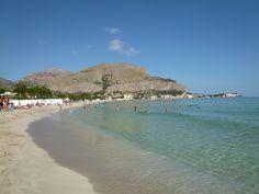 """Spiaggia """"Mondello"""", Palermo Sicilia"""