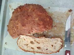 από την Athina Lemonaki Υλικά: 1 αυγό και 1 ασπράδι 2 κ.σ ασπράδι σκόνη Dukan Diet, Bread, Food, Brot, Essen, Baking, Meals, Breads, Buns