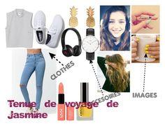 """""""Tenue de voyage de Jasmine"""" by bouya-doris on Polyvore"""