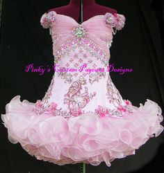 Girls' Dresses (Sizes 4 & Up) for sale Glitz Pageant Dresses, Pagent Dresses, Little Girl Pageant Dresses, Pageant Wear, Evening Dresses, American Girl, Girls Fancy Dresses, Toddlers And Tiaras, Google Search