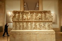 LEBANON, BEIRUT NATIONAL MUSEUM, A TOMB
