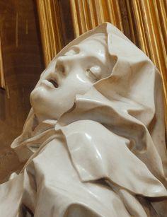Estasi di santa Teresa d'Avila, 1647 – 1652, scultura in marmo e bronzo dorato, Santa Maria della Vittoria in Roma, Gian Lorenzo Bernini