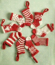 lovely knitted socks