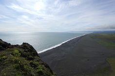 Black Sand Beach in Iceland