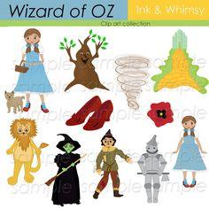 Wizard of Oz Clip Art   Clipart , Wizard of Oz, Digital, Clip art, ,