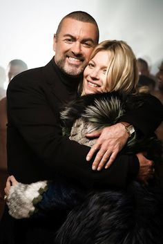 Kate Moss in George Michael's White Light i think they make a lush couple btw