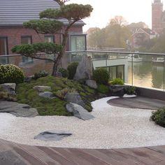 japanischer garten auf dachterrasse, traumhaftes wohnen im, Garten ideen gestaltung
