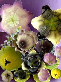 Fleurs en céramique de Mustardseed & Moonshine | Votre Maison Votre Jardin