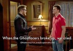 Supernatural!!!! No Ghostfacers!!!! Noooooo!!!