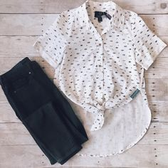 ZOOM 👁🗨 in to see the details! Thursday OOTD ✔️ {item no's: Black jeans - 117046 Kids Wear, Thursday, Your Style, Black Jeans, Pdf, Boutique, Button, How To Wear, Clothes