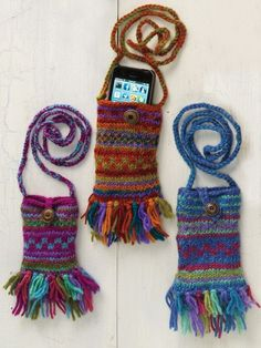 Shop the Kathmandu Cell Phone Kover. Colorful mini shoulder bag for phone, keys & cards makes a great gift. Fair-trade crafted in Nepal of wool with smooth lining.