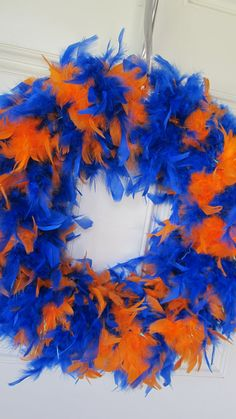 Gator feathers - so going to make this for game days!!!