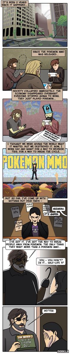 With the announcement of Pokemon Go, Dorkly predicted this.