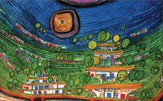 Friedensreich Hundertwasser (1928 - 2000 )