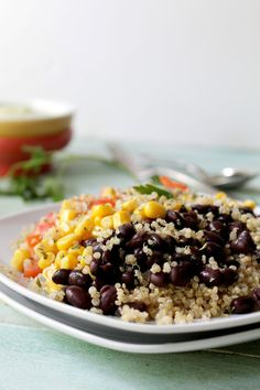 Southwestern Quinoa Salad with Creamy Avocado Dressing | Tasty Kitchen: A Happy Recipe Community!