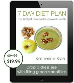 Save 5 dollars on Green Thickies 7 Day Diet Plan for weight loss