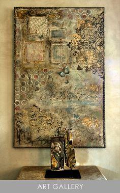 Segreto - Fine Paint Finishes and Plasters - Plaster - Houston TX - Faux Finishing - Plaster - Art Gallery -