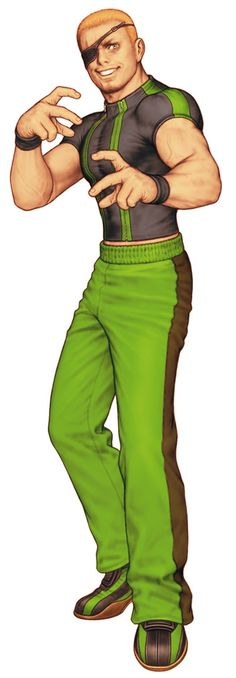 Ramon from King of Fighters 2000