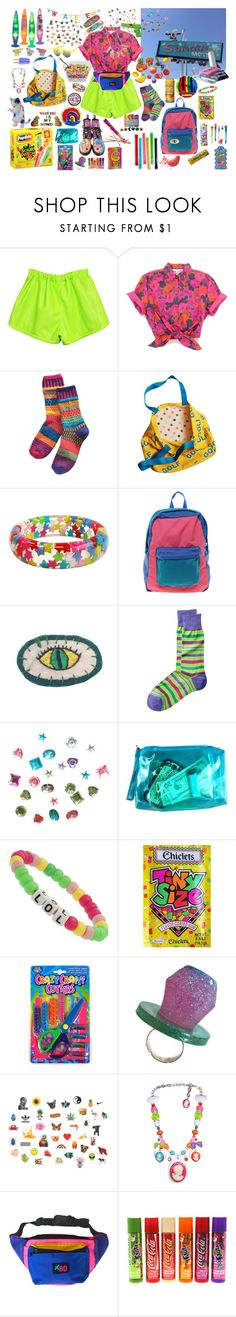 """""""odd visitor"""" by puppygooop ❤ liked on Polyvore featuring CASSETTE, MANGO, American Apparel, Dr. Martens, Pixie, FRUIT, Miss Selfridge, Candie's, Paul Frank and Tarina Tarantino"""