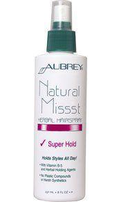 Natural Missst Hair Spray-Super Hold-8 oz Brand: Aubrey Organics - http://essential-organic.com/natural-missst-hair-spray-super-hold-8-oz-brand-aubrey-organics/
