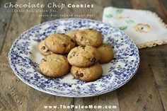 Chocolate Chip paleo cookies