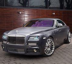 Rolls Royce Wraith by Mansory