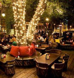 Vintage cafe bar restaurant design 62 ideas for 2019 Outdoor Restaurant Patio, Outdoor Cafe, Cafe Restaurant, Decoration Restaurant, Restaurant Interior Design, Restaurant Interiors, Cafe Design, Patio Design, Food Design
