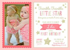 Twinkle Twinkle Little Star... Shes Grown So Fast & Come So Far... {ask about other items in this collection} :: ALSO AVAILABLE FOR LITTLE