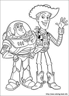 toy story 3 coloring picture - Free Colouring