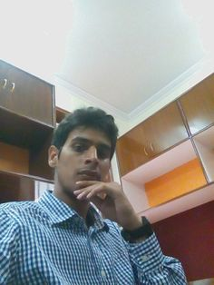In my office.. taking a selfi first day of my new life Feeling awesome also little bit nervous...but all its about a part of life