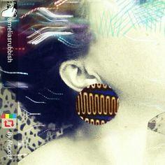 Happy customer instagram @studio4608 ~ handmade earrings studio4608.tictail.com