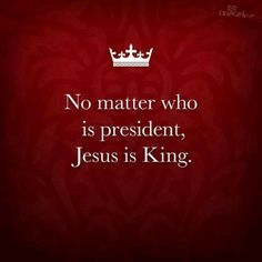 Praises to my King!