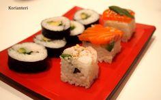 Easy rice cubes ans sushi   www.korianteri.fi