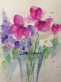 Magnificently Painting - Spring Bouquet 4 by Britta Zehm