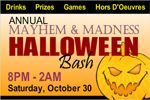 Halloween bash custom vinyl banner. Step out with your day life with halloween. advertise your event on custom vinyl banner.