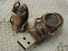 Crazy Steampunk USB Flash Drives