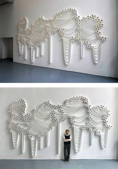 your daily dose of art, inspiration and creativity! Astelvio loves viral videos, advertising, unconventional art, street art and more cool stuff! Toilet Paper Art, Installation Art, Art Installations, Grid Design, Dream Art, Artist Art, Paper Cutting, Quilling, Illustration Art