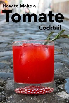 Follow our easy recipe and make a Tomate cocktail at home in just two minutes. This fruity pastis drink tastes like the South of France in a glass.   Tomate Recipe   Tomate Cocktail Recipe   Pastis Drink   Pastis Cocktail   French Cocktail   Summer Sipper   Christmas Cocktail   Red Cocktail   Red Drink French Cocktails, Red Cocktails, Christmas Cocktails, Summer Cocktails, Cocktail Recipes, Fruit Punch, Red Fruit, Refreshing Drinks, Yummy Drinks