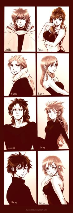 Fairy Tail Couples by Lulu2222 on deviantART