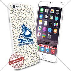 New iPhone 6 Case San Diego Toreros Logo NCAA #1506 White Smartphone Case Cover Collector TPU Rubber [Anchor] SURIYAN http://www.amazon.com/dp/B01504B86K/ref=cm_sw_r_pi_dp_UKIzwb0DZ0PXP