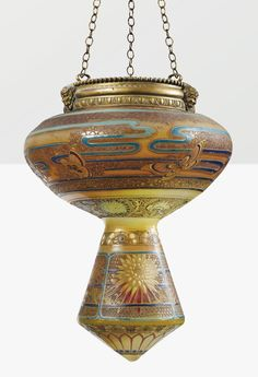 Art Nouveau Mosque Chandelier by Gallè Antique Lamps, Vintage Lamps, Antique Art, Victorian Lighting, Antique Lighting, Victorian Lamps, Art Nouveau, Art Deco, Chandelier Lamp