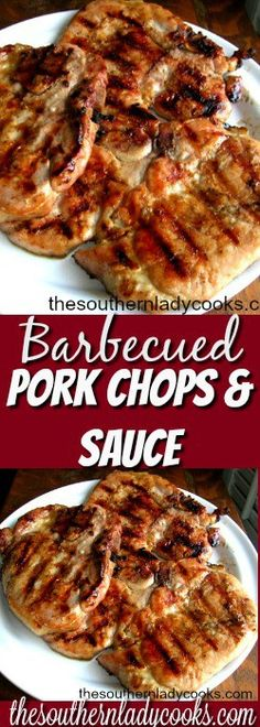 We love to baste pork chops and chicken with this sauce for cooking on the grill. I make it up right before we get ready to cook.